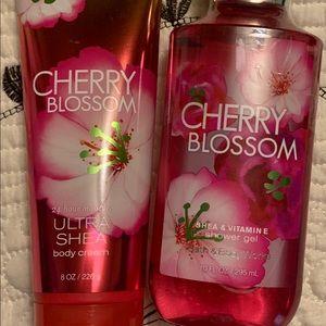 Bath & Body Works Cherry Blossom Lotion & Wash